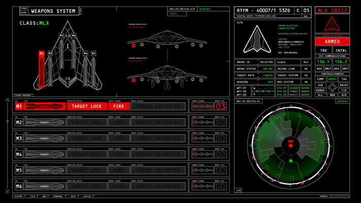24_Drone firing screen